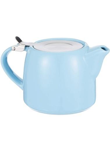 Porland Porland Chai Mavi Süzgeçli Demlik 600cc Renkli